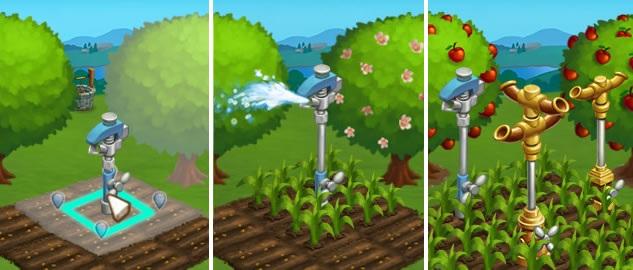 farmville 2 rociadores agua - 'FarmVille 2' Veja os novos aspersores de água