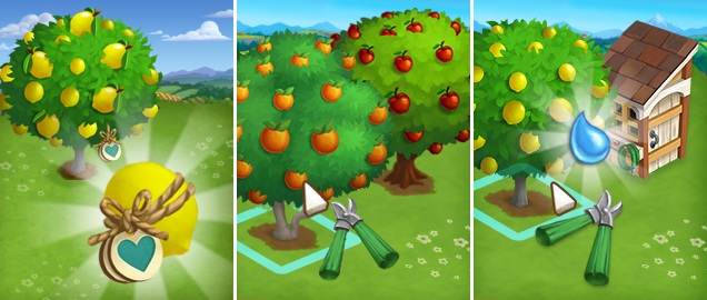 farmville2 podar arboles - 'FarmVille 2' Aprenda como podar árvores