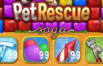 Pet Rescue Saga: Como conseguir Boosters e vidas Infinitas