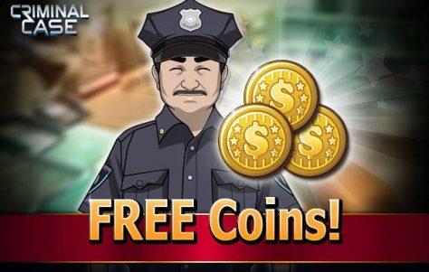 Ganhe 3000 moedas grátis Criminal Case 26-09-14