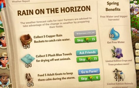 """FarmVille 2 – Descubra como ganhar 30 de água com """"FarmVille Beacon"""""""