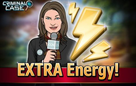 Criminal Case: Ganhe 5 de energia grátis 20-05-15