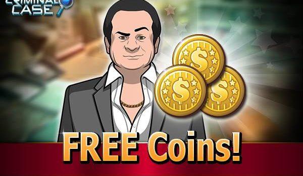 Ganhe 3000 moedas grátis Criminal Case 12-11-15