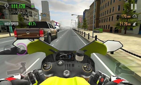 hgbhj1 - Traffic Rider MOD apk v1.4 [dinheiro ilimitado]